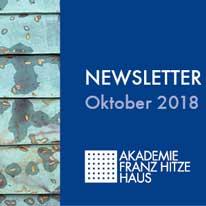 Newsletter Oktober 2018